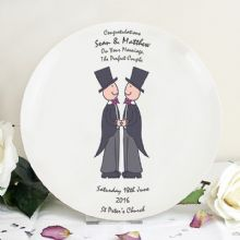 Male Wedding & Civil Partnership Plate